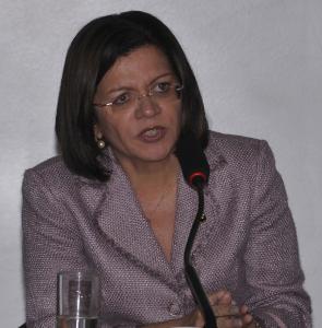 Rosângela Rassy, presidenta do Sindicato Nacional dos Auditores Fiscais (Sinait)