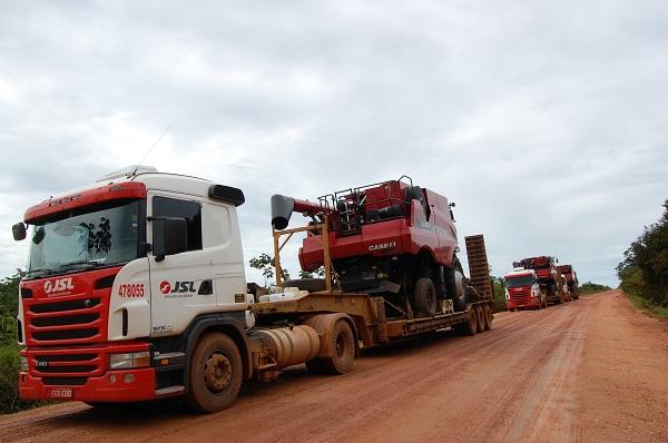 Monocultivo de soja invade região do Araguaia, no Mato Grosso