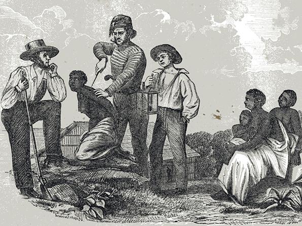 Marcação a ferro, prática recorrente nas antigas formas de escravidão (Foto: Reprodução)