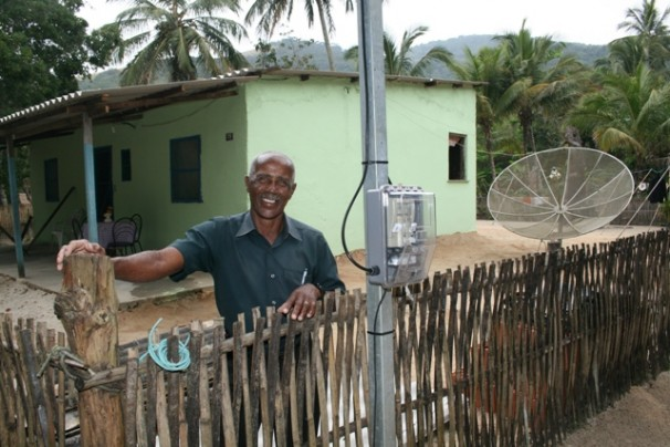 """Quilombo já contou com investimentos do programa """"Luz para Todos"""", do governo federal. (Foto: Divulgação / Ministério de Minas e Energia )"""