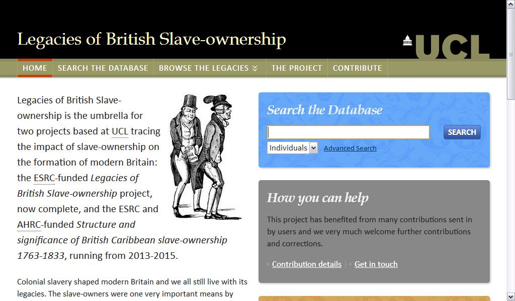 Base de dados está disponível para consulta no endereço http://www.ucl.ac.uk/lbs/ (Foto: Reprodução)