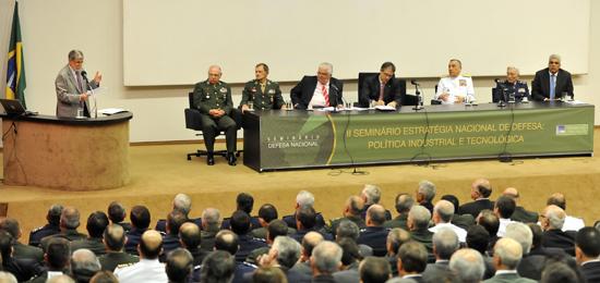 II Seminário Estratégia Nacional de Defesa, realizado em fevereiro de 2012. Foto: Divulgação/Ministério da Defesa