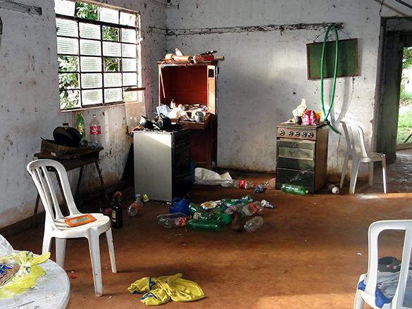 Interior da casa onde Joaquim viveu