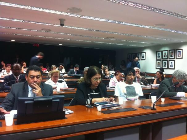 Deputados no evento em Brasília. Foto: Leonardo Sakamoto