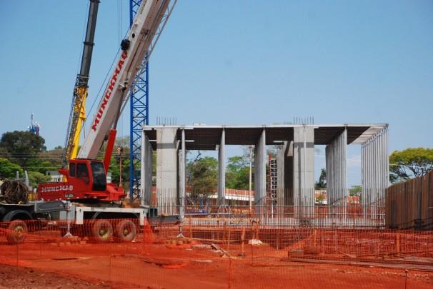 Trabalhadores foram resgatados da obra do data center do Santander (Foto: Fernanda Forato)