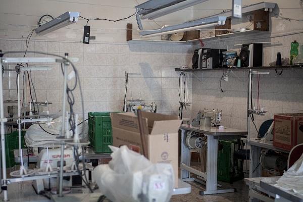 Oficina em que foram encontradas peças da Bo.Bô