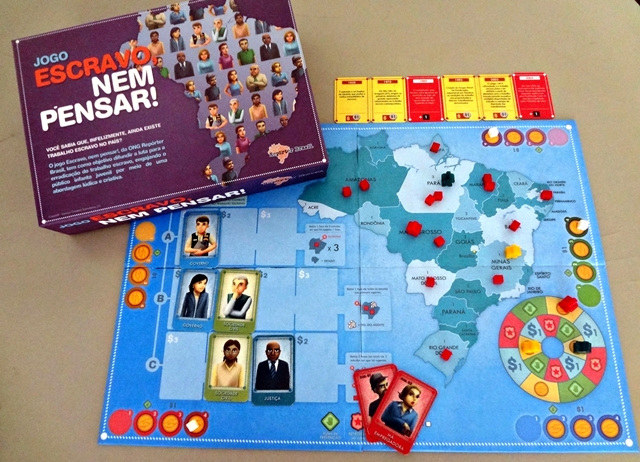 'Escravo, nem pensar!' lança jogo didático sobre escravidão