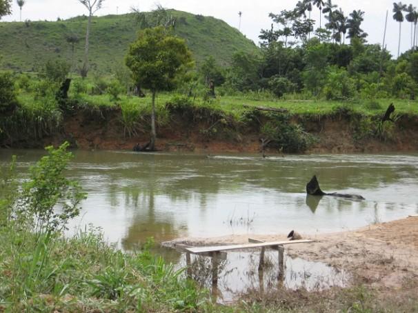 Fazenda da Agropecuária Santa Bárbara, flagrada com trabalho escravo em 2012 (Foto: Divulgação/MTE)
