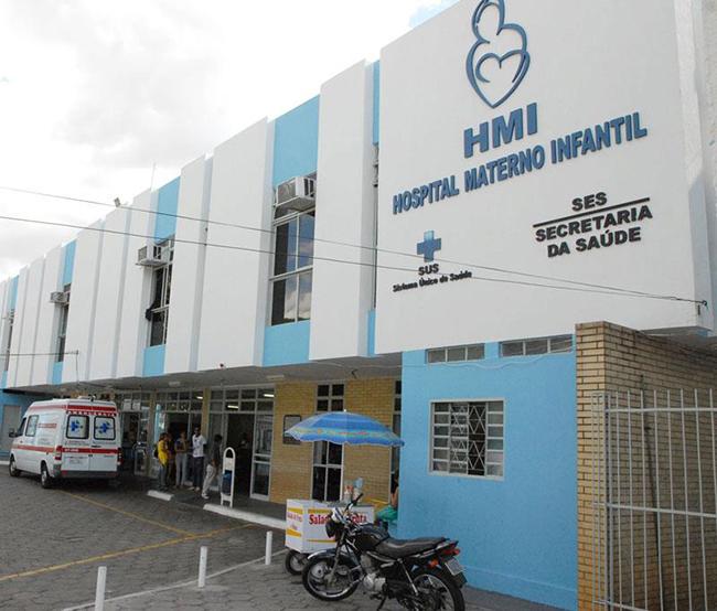 Fachada do Hospital Materno Infantil (HMI) em Goiânia (Foto: Secretaria da Saúde do Estado de Goiás / Divulgação)
