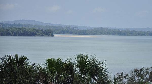 Trecho do Rio Tapajós que deve ser alagado (Foto: Marcelo Assumpção/Cicloamazônia)