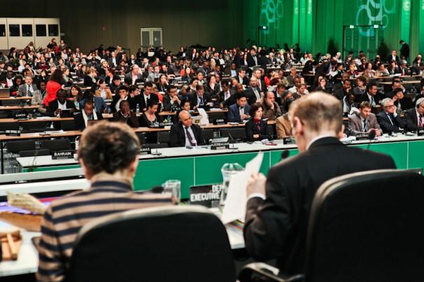 Ambientalistas brasileiros afirmam terem presenciado lobby  ostensivo durante as negociações. Foto: Divulgação/COP-19