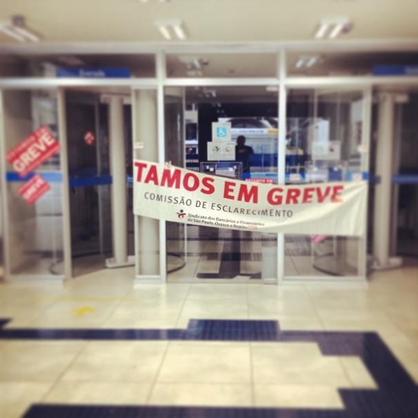 O assédio moral foi tema também durante a greve dos bancários em 2013 (Foto: Mark Hillary/Flickr)