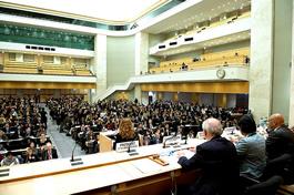 II Fórum da ONU sobre Empresas e Direitos Humanos, em Genebra. Foto:  UN photo / Jean-Marc Ferré