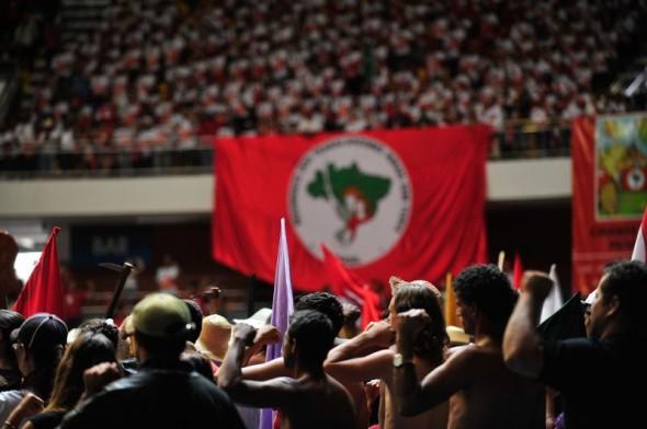 Dirigente defende  centralismo nas linhas políticas e descentralização no comando do MST. Foto: Marcelo Camargo/Agência Brasil