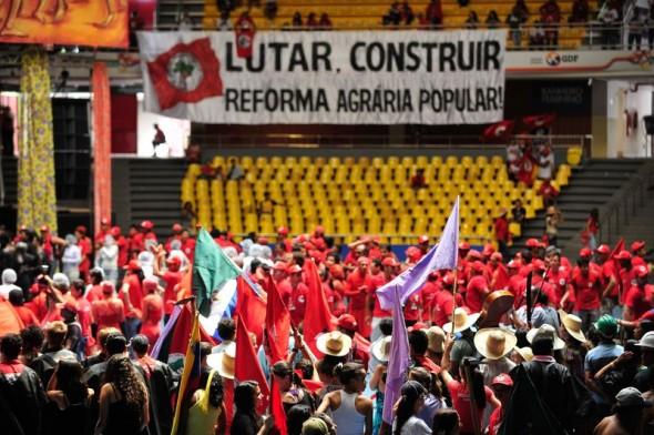 """Reforma Agrária """"Popular"""" foi defendida no Congresso do MST. Foto: Marcelo Camargo/Agência Brasil"""