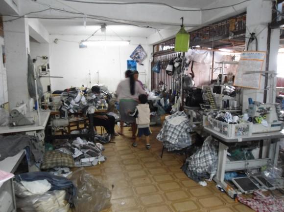 Trabalho escravo na produção de peças da marca Fenomenal. Fotos: Divulgação/MPT
