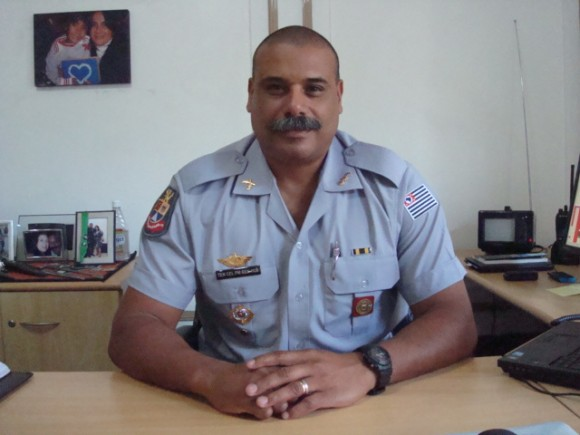 Tenente-coronel Ben Hur Junqueira. Foto: Divulgação/PMSP