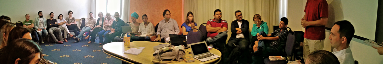 Repórter Brasil realiza oficina sobre tráfico de pessoas para jornalistas