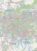Em vermelho, região onde o resgate aconteceu (clique para navegar no mapa). Imagem: OpenStreetMap