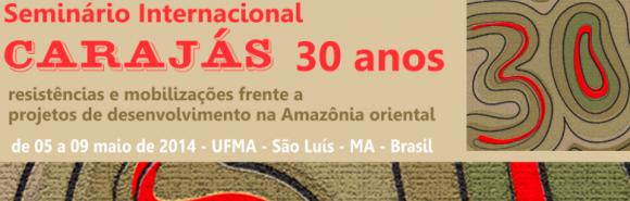 Banner Seminário Internacional Carajás 30 Anos