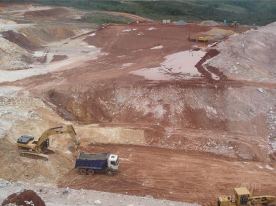 Construção do Sistema Minas-Rio (Foto: Reprodução/Construtora Modelo)
