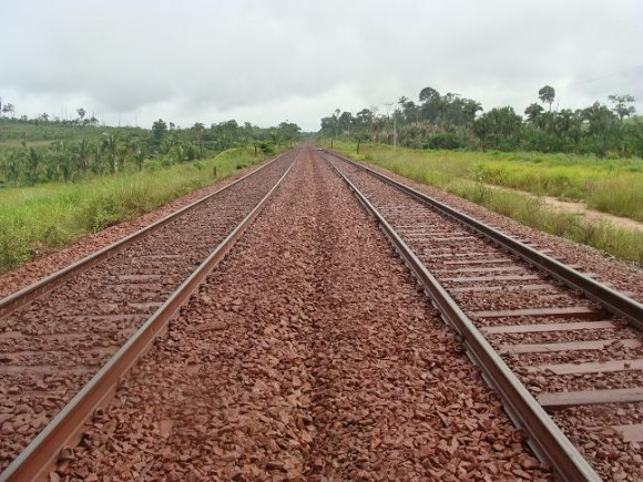 Ferrovia de Carajás. Fotos: Daniel Santini