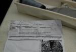 Documento enviado pela M. Officer com instruções para confecção de lote de calças