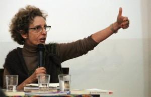 Raquel Rolnik em debate na Fundação Rosa Luxemburgo