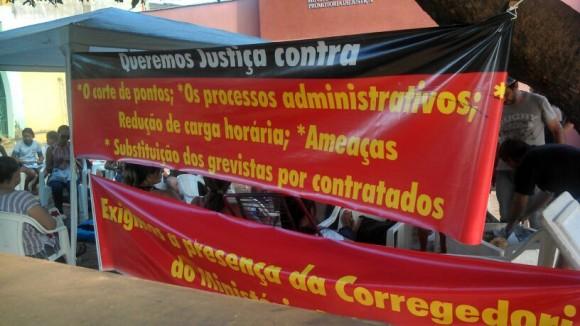 Professores querem que Corregedoria do MPE abra investigação para apurar conduta do promotor. Foto: Divulgação/Sintepp