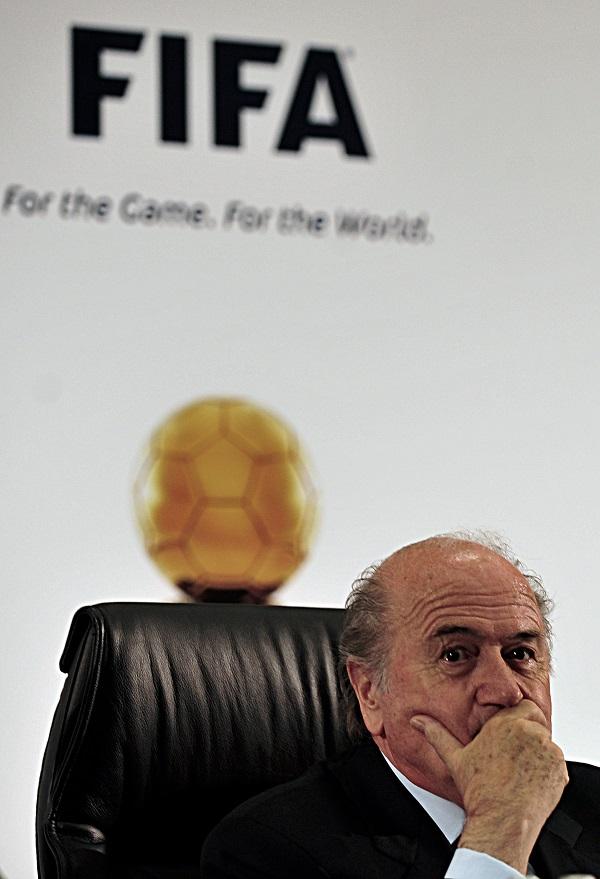 Presidente da Fifa, Joseph Blatter. Foto: Marcello Casal Jr./ABr