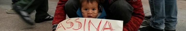 Guaranis protestam contra ameaça de reintegração de posse em aldeia de São Paulo