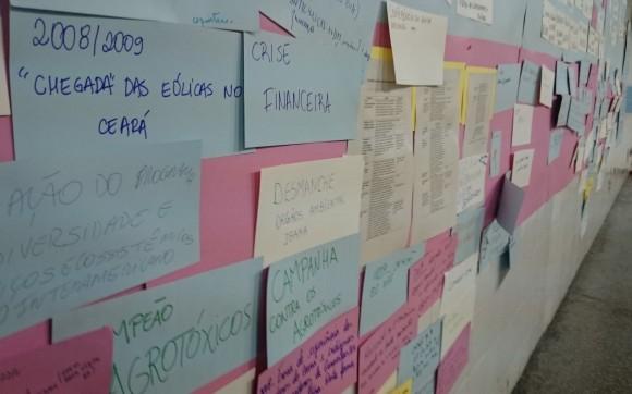 Diversidade marcou encontro. Participantes destacaram fatos relevantes e problemas socioambientais das últimas décadas no Brasil. Fotos: Daniel Santini