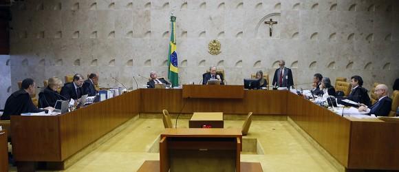 Sessão plenária do STF. Foto: Nelson Jr./SCO/STF