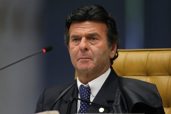 Ministro Luiz Fux durante sessão do STF. Foto: Fellipe Sampaio /SCO/STF (20/08/2014)