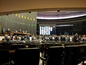 Sessão em que a PEC do Trabalho Escravofoi aprovada. Foto: Daniel Santini