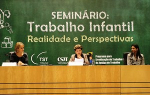 Seminário Trabalho Infantil TST