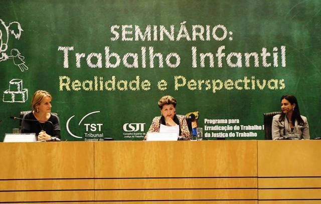 Seminário no TST revela engajamento do Poder Judiciário no combate ao trabalho infantil