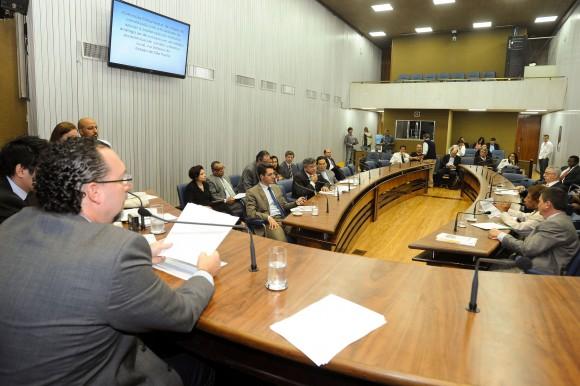 Sessão da CPI do Trabalho Escravo. Foto: Márcia Yamamoto/AL