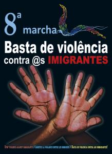 Cartaz da oitava edição da Marcha