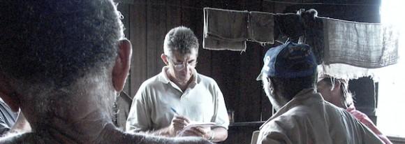 Fiscal toma depoimento de resgatados do trabalho escravo no Pará