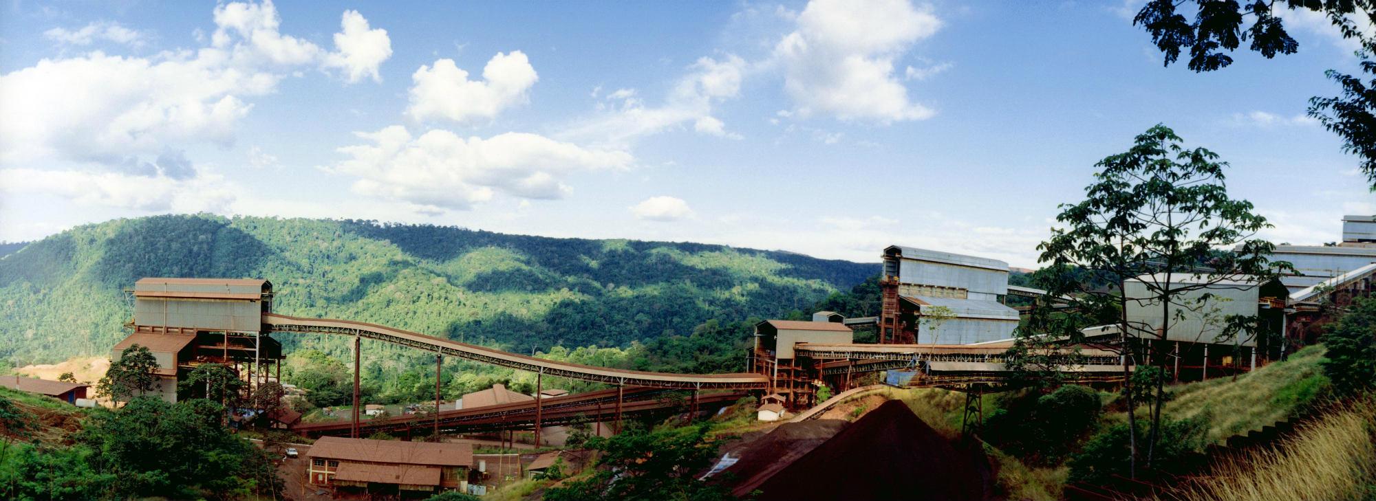 Mina de ferro do complexo de Carajás. Foto: Divulgação/Vale