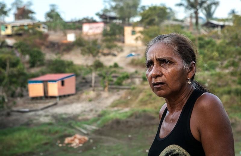 Ofélia dos Santos, líder da comunidade Igarapé do Bode, enfrenta ameaças para lutar pela terra. Foto: Lilo Clareto