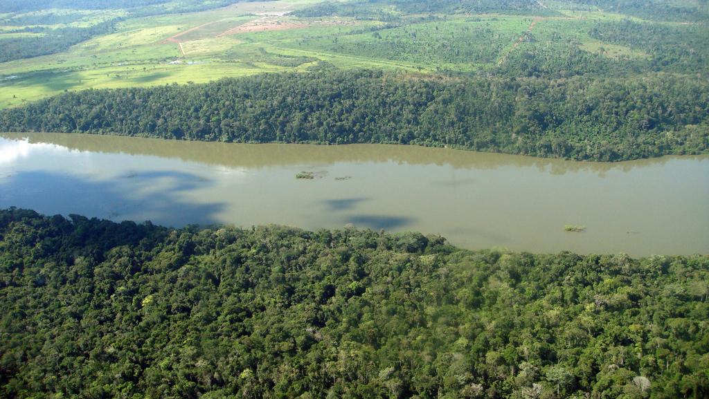 Rio Teles Pires faz parte dos planos chineses. Foto: Divulgação/Presidência da República