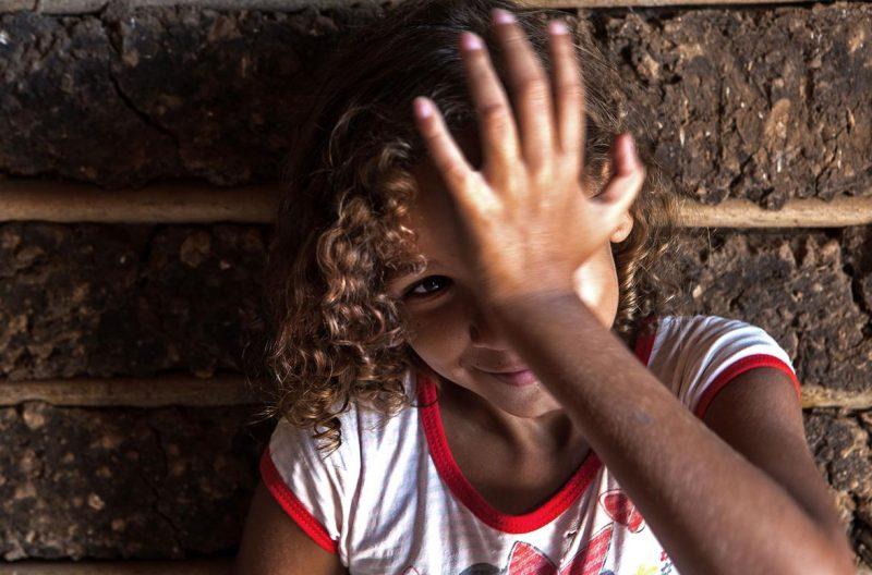Criança quilombola da comunidade de Mata Virgem, no Maranhão. Foto: Lilo Clareto/Repórter Brasil