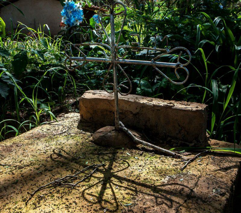Cemitério da comunidade quilombola Benedito dos Colocados(MA). Foto: Lilo clareto / Repórter Brasil