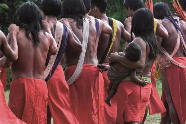 Indígenas do povo Wajâpi foram os primeiros a elaborar um protocolo de consulta. Foto: Mário Vilela/Funai