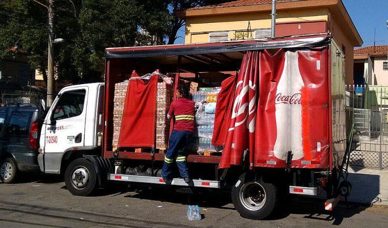 Entregadores faziam jornadas que chegavam a 140 horas extras por mês (Foto: Carlos Juliano Barros/ Repórter Brasil)