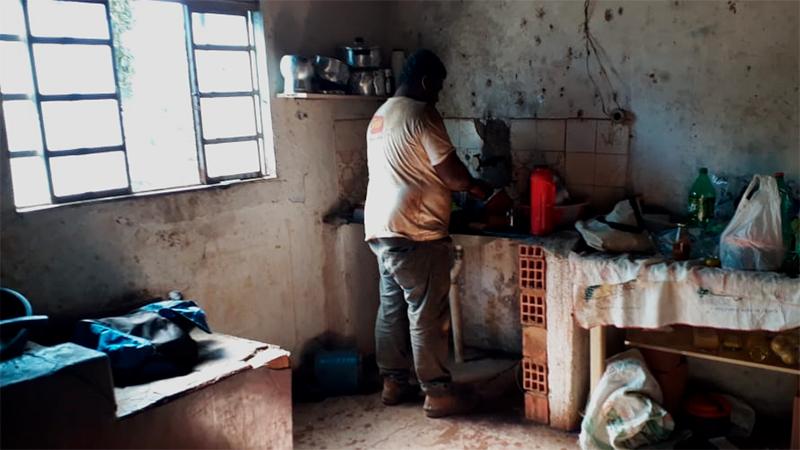 Fazenda Córrego da Prata, de onde 15 trabalhadores foram resgatados, é de cunhada do deputado estadual Emidinho Madeira. Fotografia: Adere