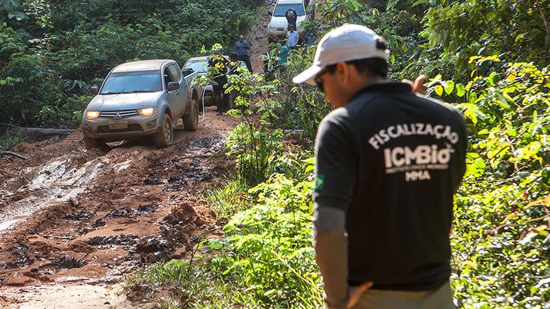 O comboio contou com seis órgãos, a segurança foi feita pelo Comando de Policiamento Ambiental da PM do Pará