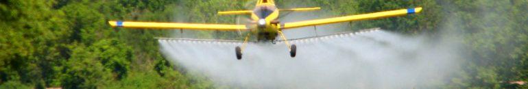 Como o agronegócio atua para garantir a pulverização de agrotóxicos pelo ar